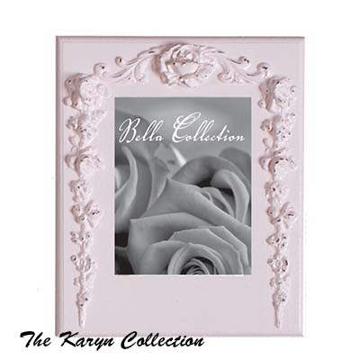 Vintage Rose Scroll Picture Frame
