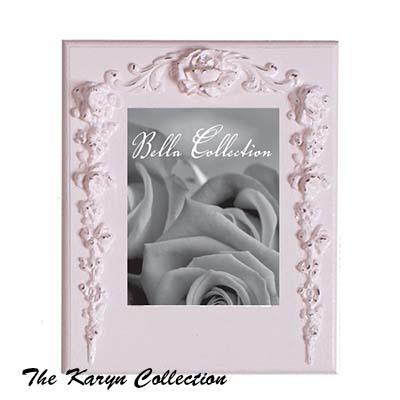 Vintage Rose Scroll Picture Frame