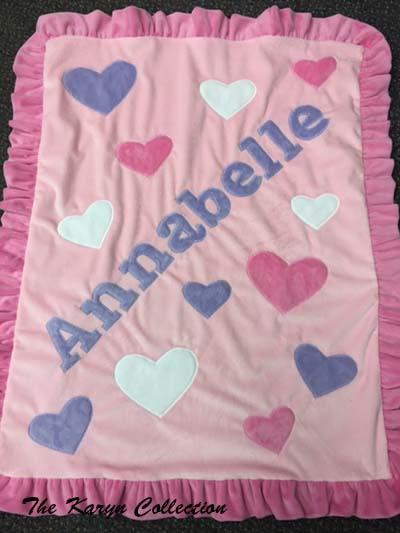 Anabelle's Heart Blanket