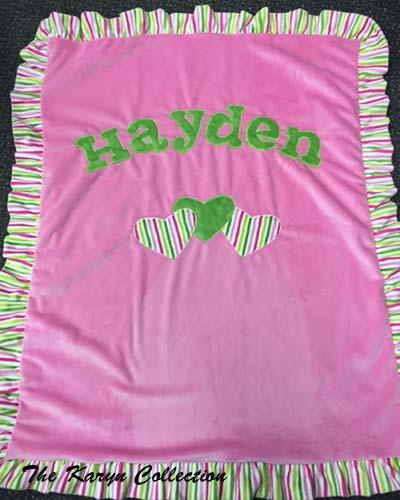 Basic Bright Blanket for Hayden