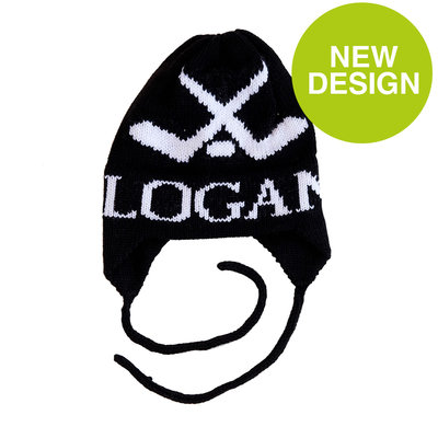 Logan's Hockey Hat with Earflaps