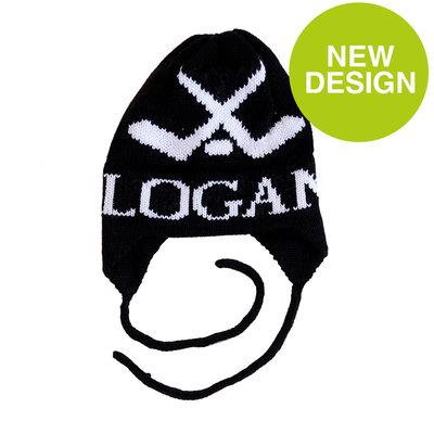 Logan's Hockey Hat with Earflaps