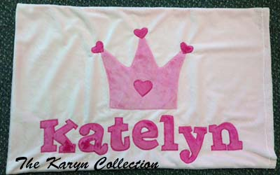 Princess Crown Pillow Case