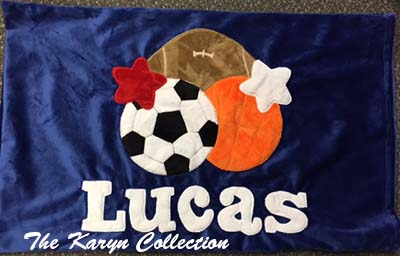 Lucas's Multi-Sports Pillow Case