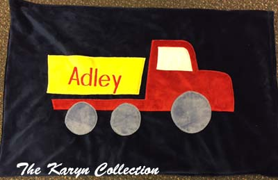 Adley's Truck Pillow Case