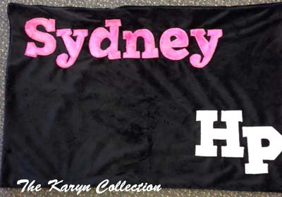 Sydney's Pillow Case - 8th Grade Graduation Gift