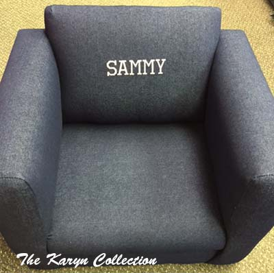 Dark Denim Chair