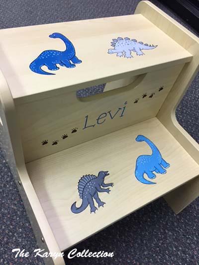 Levi's Dino 2-Step Stool