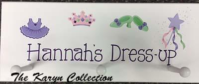Hannah's Dress Up Coat Rack