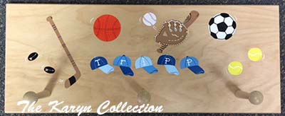 Tripp'sSports Wall Coat Rack