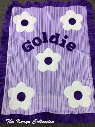 Goldie's Daisy Minky Blanket