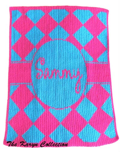 Diamond Stroller Blanket