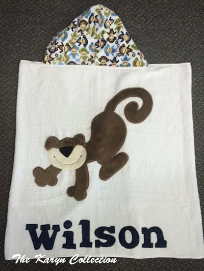 Wilson Monkeys Around Toddler towel
