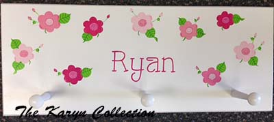 Ryan's Daisy Wall Coat Rack