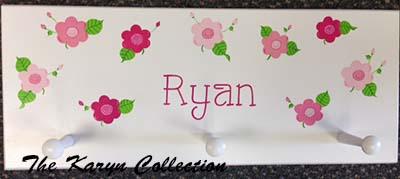 Ryan's Daisy Wall Coat Rack