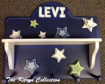 Levi's Shelf Coat Rack