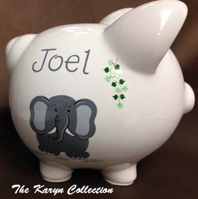 Jungle Piggy Bank
