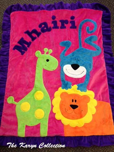 Mhiri's Bright Wild Animals