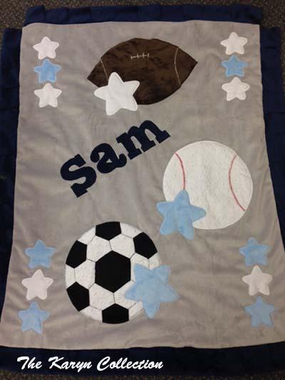 Sam's Sports Blanket