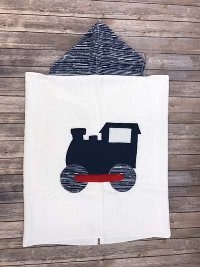 Train Toddler Towel