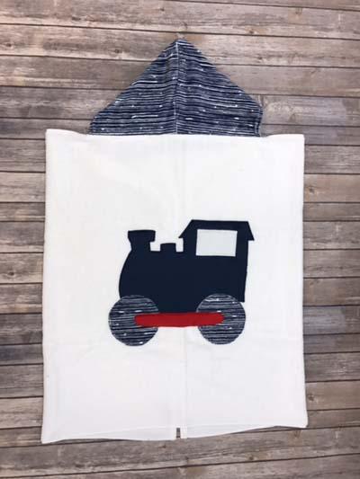 Train Toddler Towel