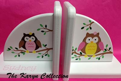 Owls Bookends