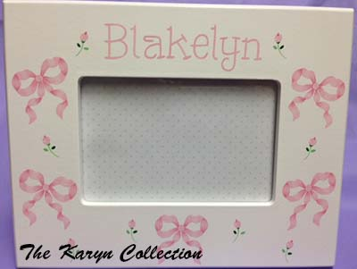 Blakelyn Bows and Flowers Picture Frame