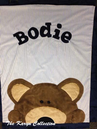 Peek-A-Boo Teddy Minky Blanket