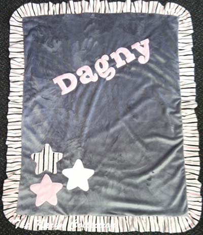 Basic 3-Star Minky Blanket