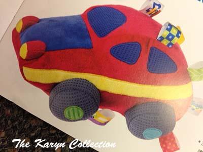 Car Taggie Toy