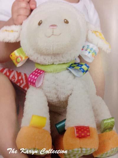 Lamb Taggies Toy