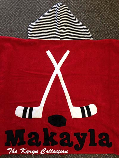 Makayla's all pro hockey towel!
