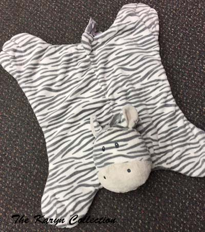 Zebra  (or ELEPHANT ...not pictured ) Cozy... great for boys or girls