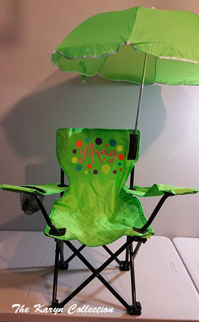 Ava's Stadium Chair with Umbrella