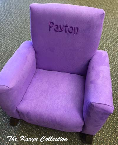 Payton's Toddler Rocker