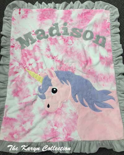 Madison's Unicorn Blanket