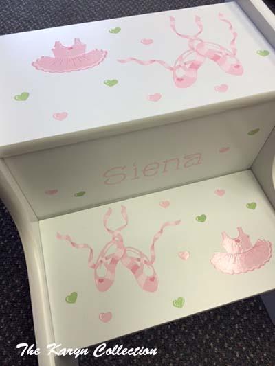 Siena's Ballet 2-Step Stool