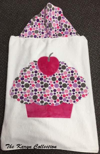 Bright Pastel Jumbo Cupcake Towel