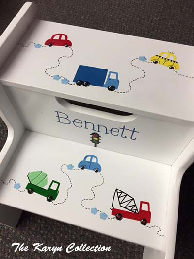 Bennett's Transportation 2-Step Stool