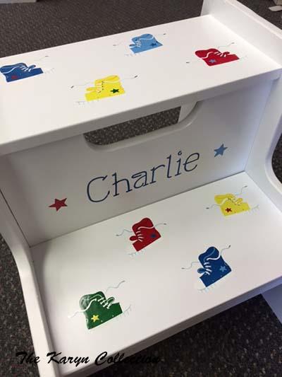 Charlie's 2-Step Sneaker Stool