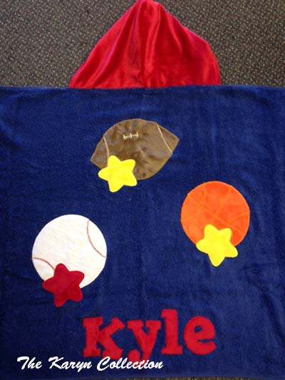 Kyle's    Multi-Sports Toddler Towel