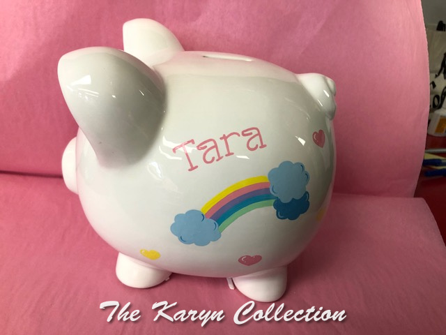Tara's Rainbow Piggy Bank