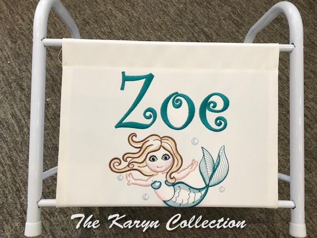 Zoe's Mermaid magazine-book rack