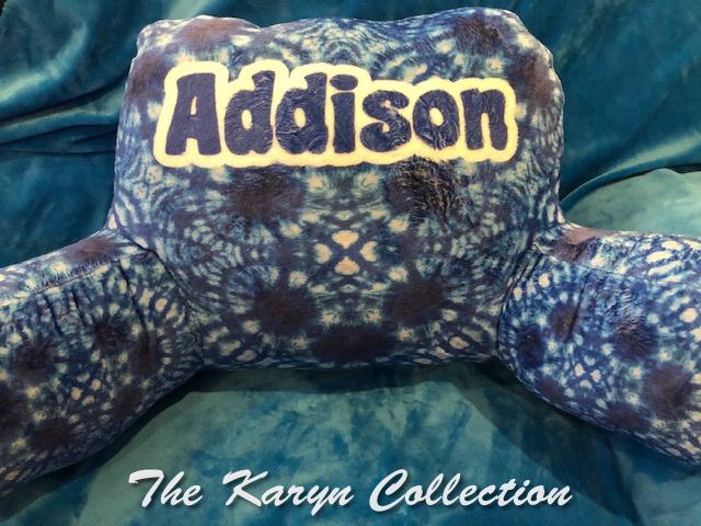 Addison's Study Pillow