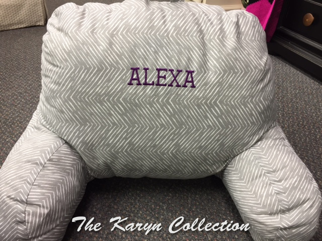 "Alexa's ""Study"" Pillow"