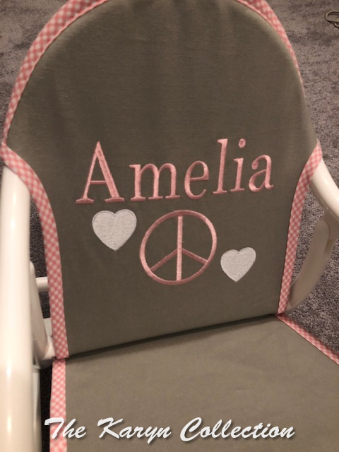 Amelia's Peace and Hearts Rocker