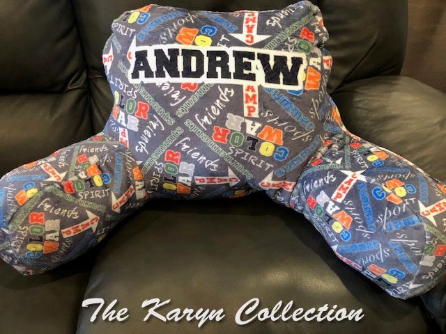 Andrew's Camp Study Pillow