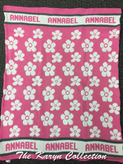 *EXCLUSIVELY OURS...ANNABEL'S ALL COTTON DAISY BLANKET