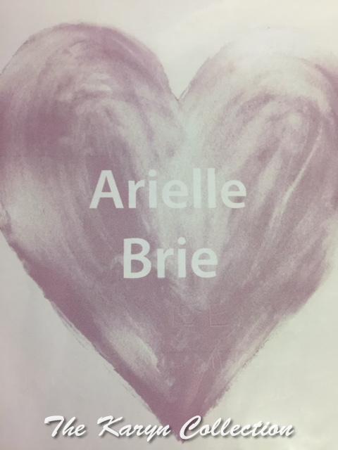 Arielle Brie Heart Custom Magnet Board