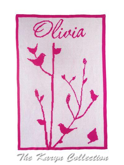 Baby Birds BB Stroller Blanket